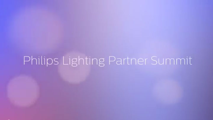 A video about the partnership between Philips Lighting and Axente