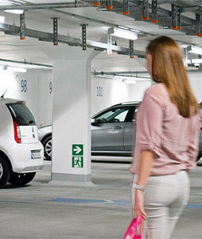 GreenParking keeps visitors safe while saving energy